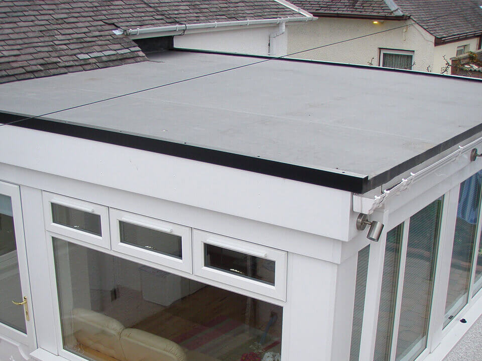 Extension Flat Roof Simister