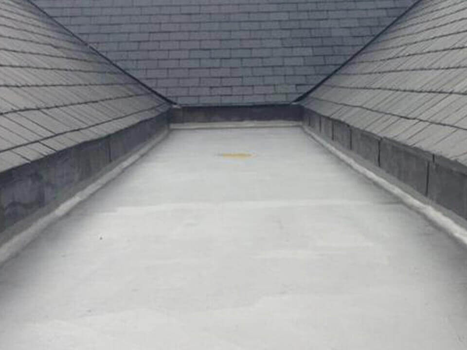 Flat Roof Old Tame