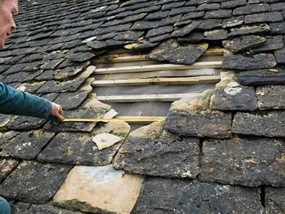 Repair Roof Bradley Fold