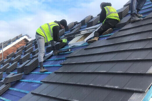 Backbower New Roof Replacement