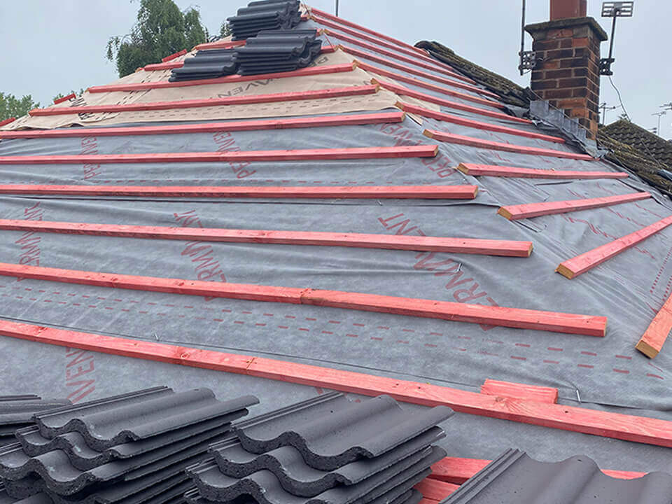 New Roof Grasscroft