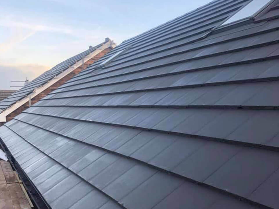 replacement roof Compstall