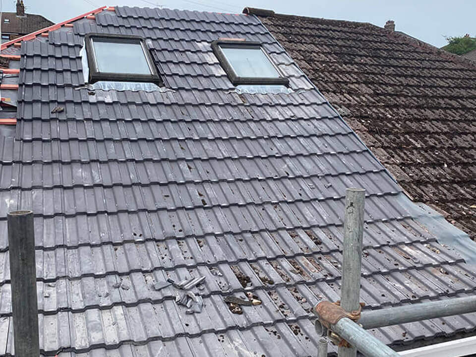 Urmston replacement roofs